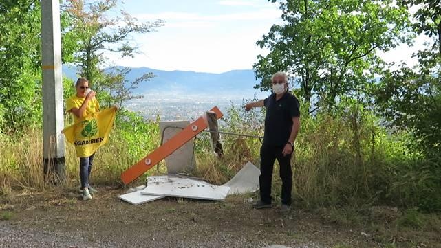Ambiente, Quarrata: discariche abusive nel Montalbano