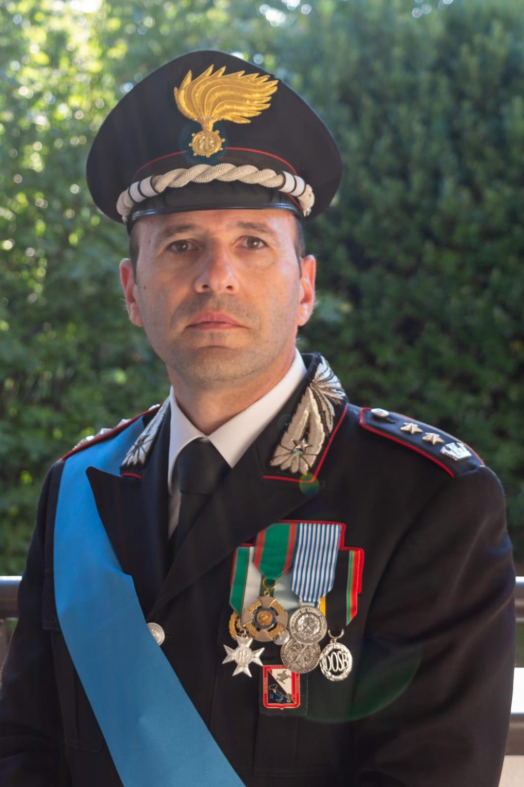 Promosso il comandante del Nucleo Investigativo dei Carabinieri di Pistoia