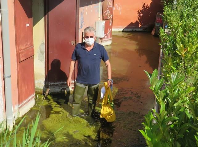 A Quarrata tolta l'acqua negli scantinati del liceo artistico Petrocchi