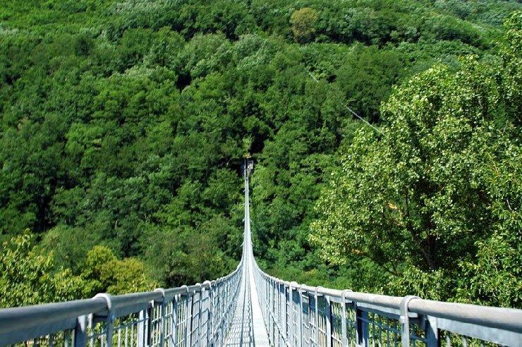 Tragedia al ponte sospeso: è un omicidio-suicidio