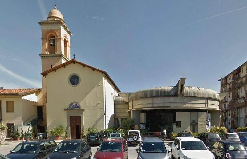 Chiusa al culto la chiesa di Vicofaro