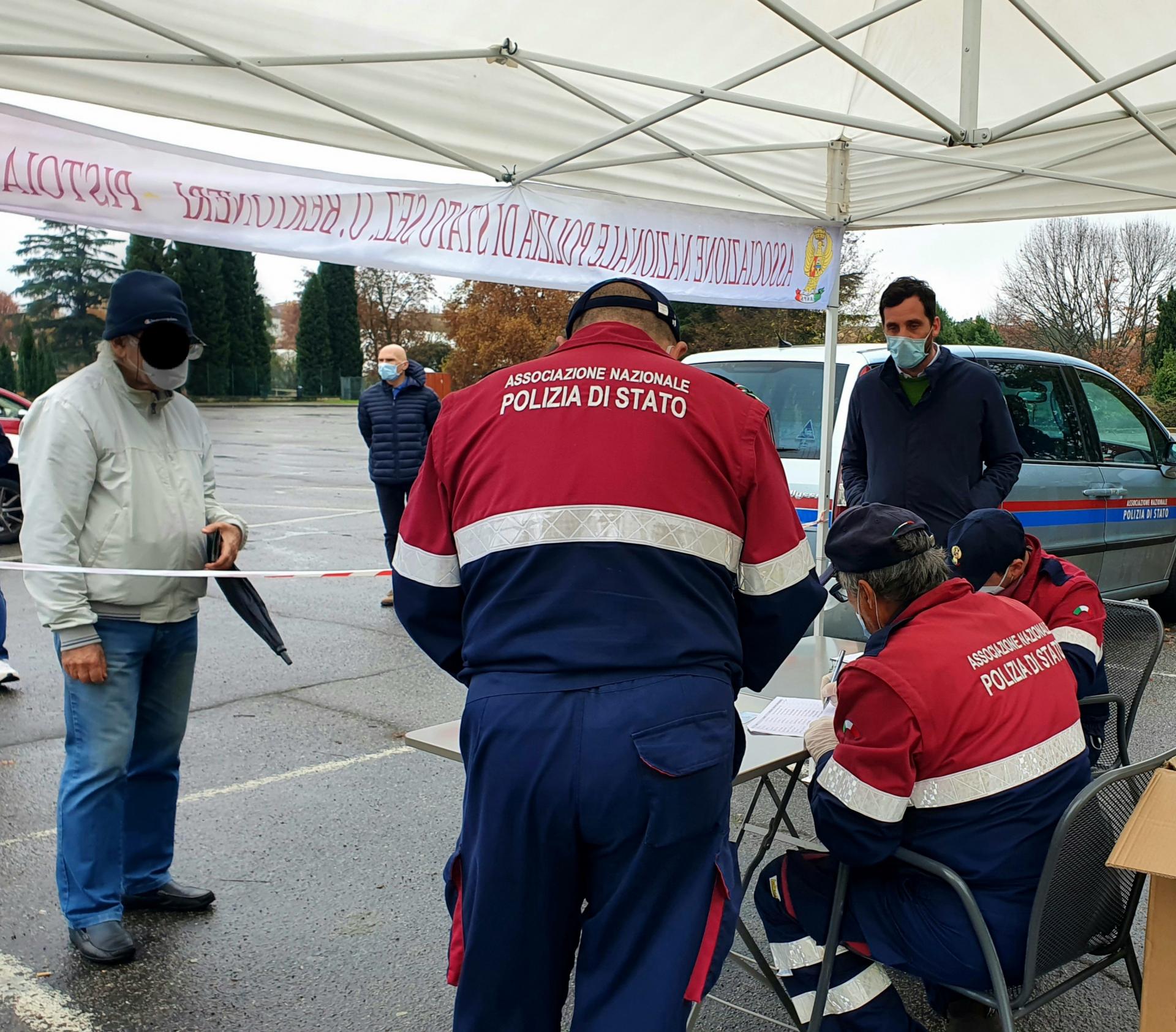 Coronavirus: distribuzione delle mascherine anche in San Biagio a Pistoia
