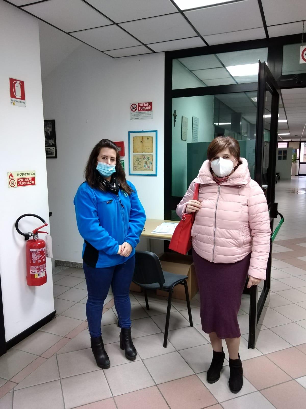 Nuova distribuzione di mascherine a Pieve a Nievole