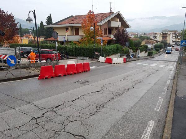 Lavori Pubblici, Pieve a Nievole: risistemazione di due tratti di strade