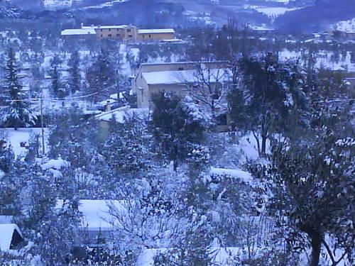 Montagna e colline pistoiesi imbiancate dalla neve