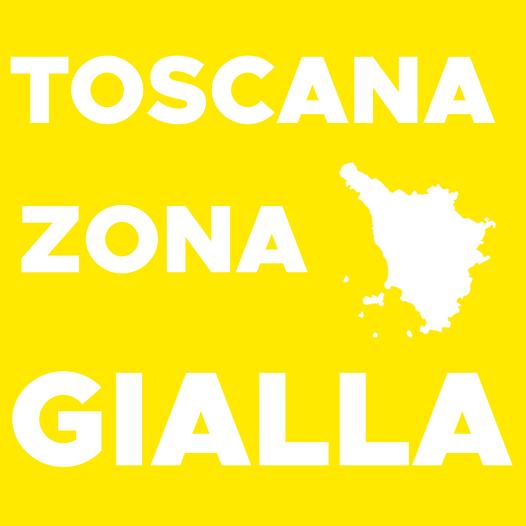 La Toscana resta zona gialla