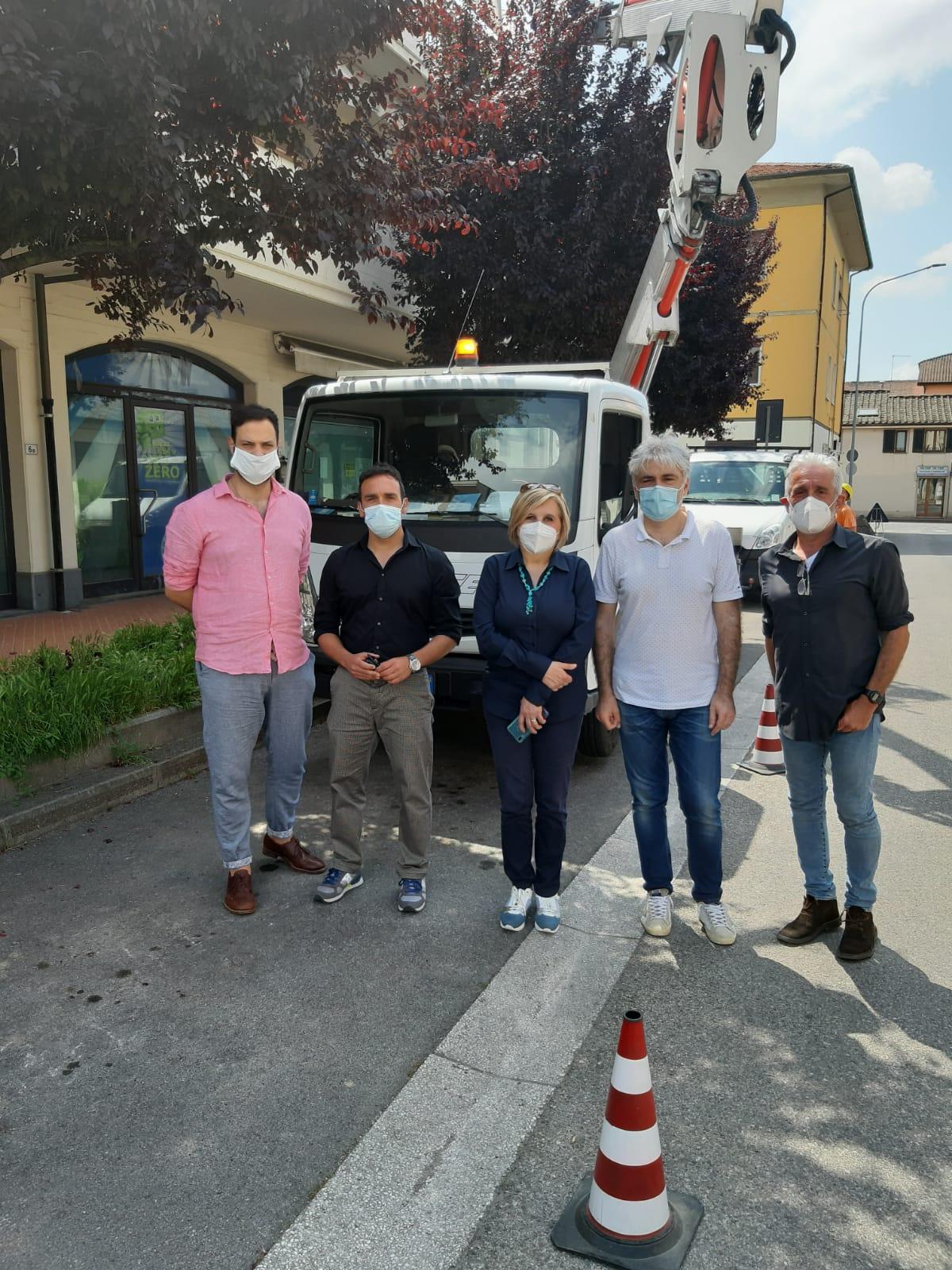Pieve a Nievole: maxi investimento sull'illuminazione pubblica