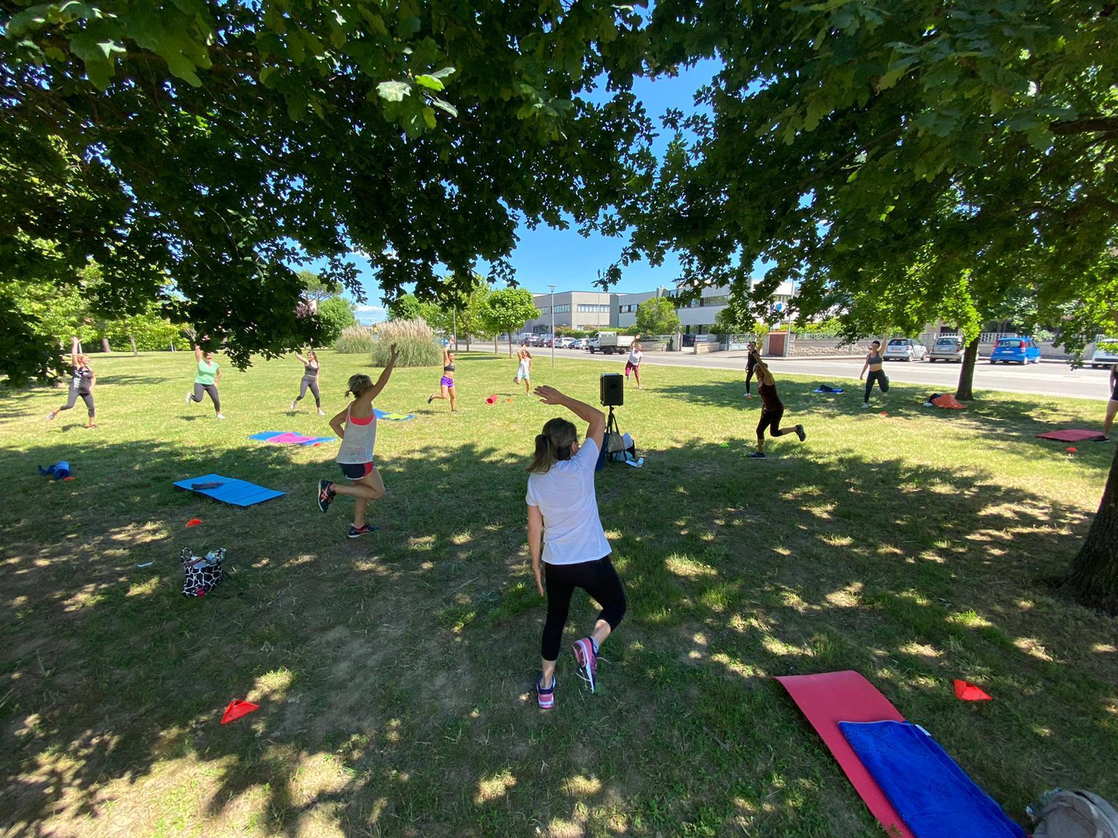 Serravalle P.se: messi a disposizione spazi all'aperto per fitness e altre attività sportive