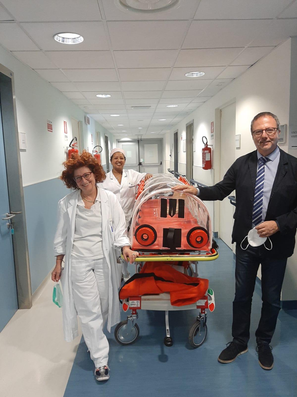 Gli industriali donano apparecchiature all'ospedale di Prato