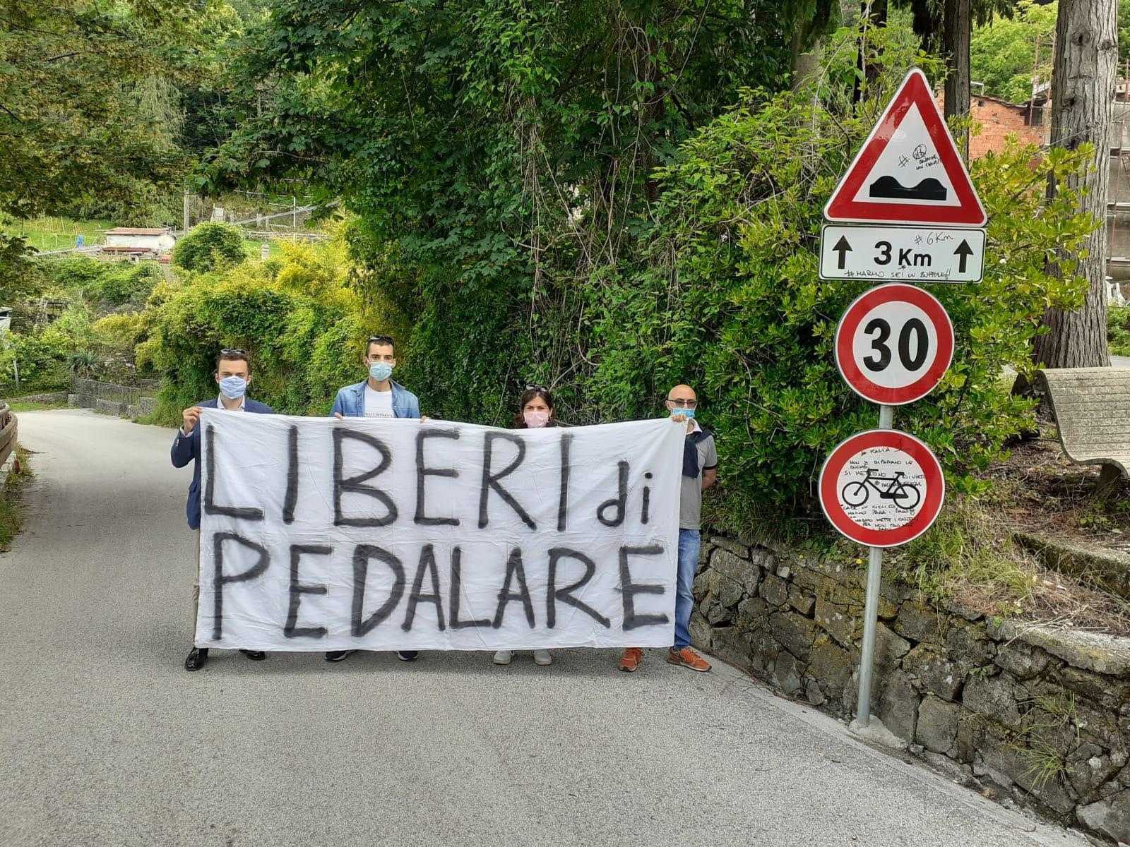 Strade chiuse, protesta a Calamecca