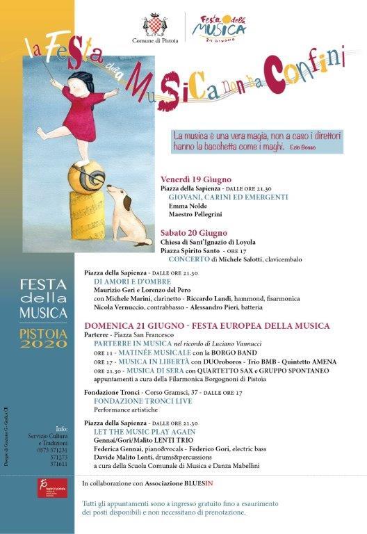Spettacolo: la Festa della Musica a Pistoia