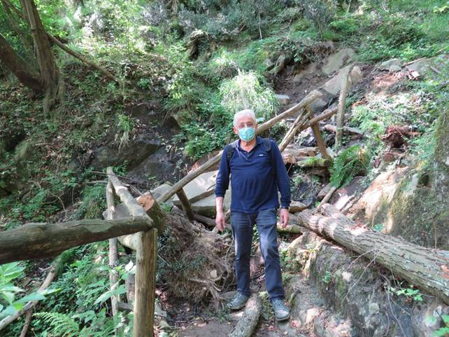Sul Montalbano la fonte del Sasso Regino minacciata da una frana