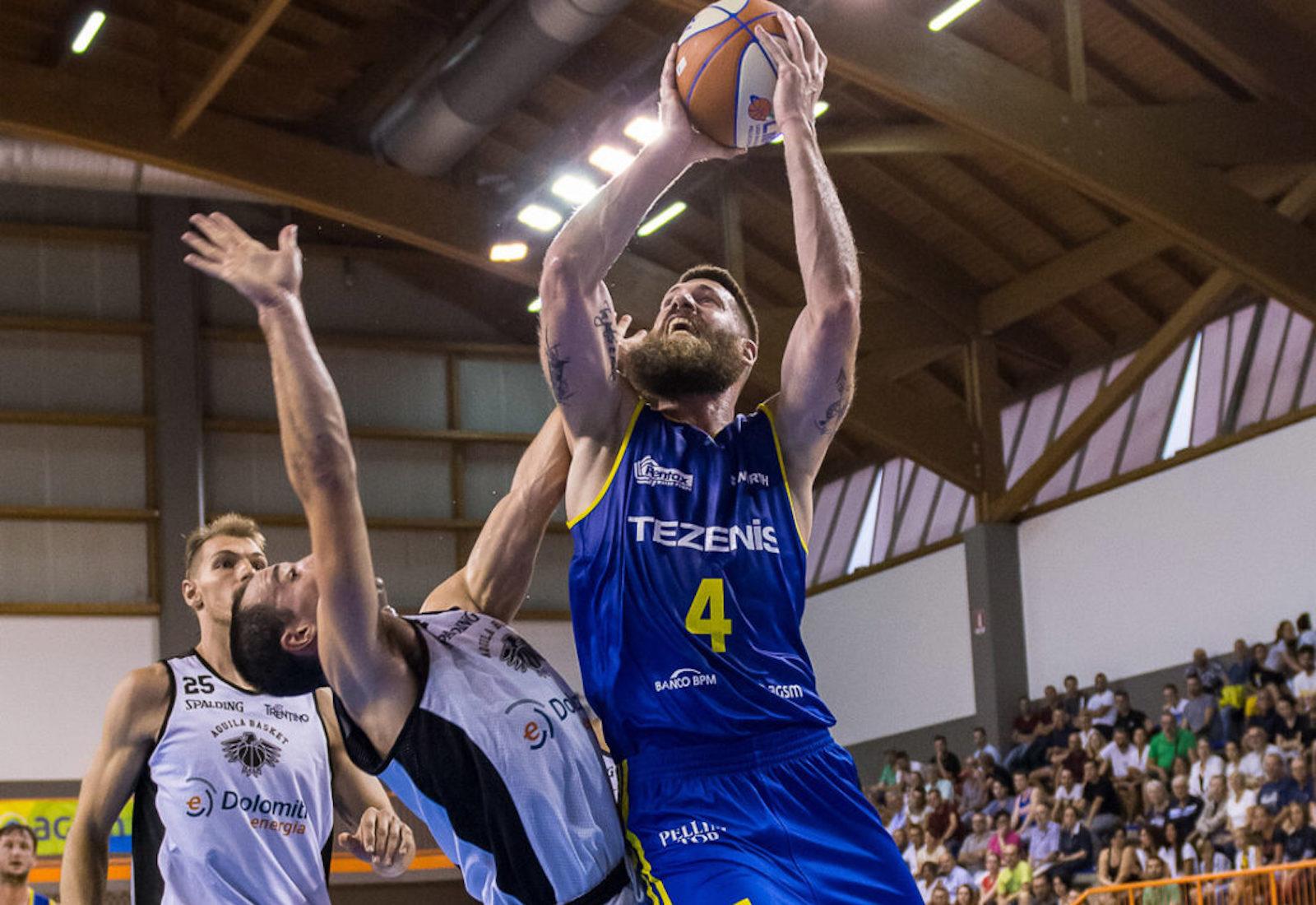 Basket, Pistoia: Mitchell Poletti in biancorosso.