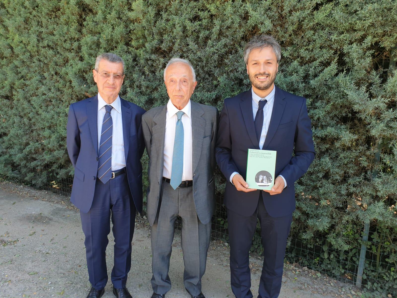 Al Quirinale presentato il libro su Antonio Cariglia