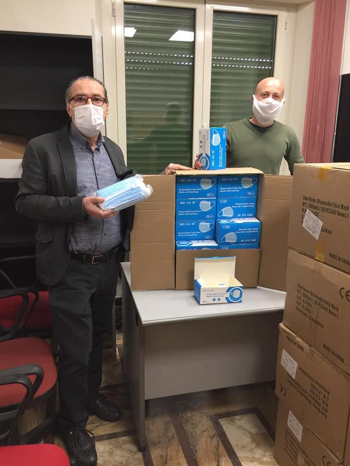 Terza iniziativa di distribuzione delle mascherine: il Comune di Quarrata le consegna a parrocchie, circoli, associazioni sportive, sociali e culturali