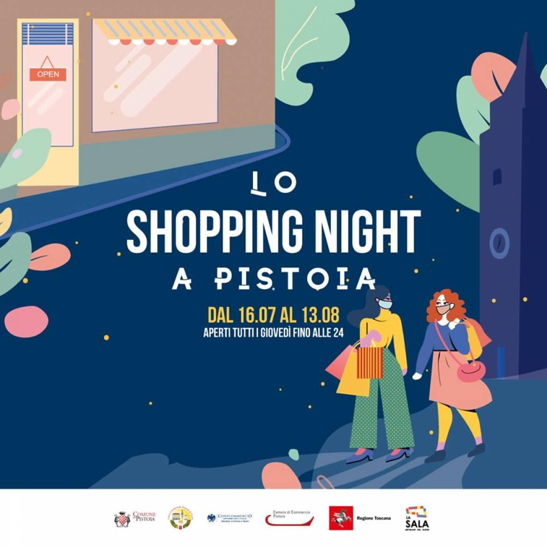 Pistoia. Torna la Shopping Night