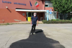 Scavi al Liceo Petrocchi di Quarrata, tappata la buca
