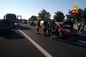 Aggiornamento sull'incidente in autostrada